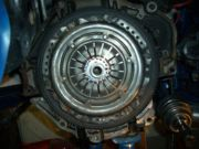 SBD ultra light flywheel and pot-type clutch