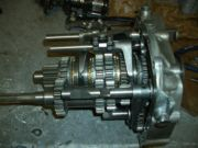 Finally the cluster built with the Quaife gears